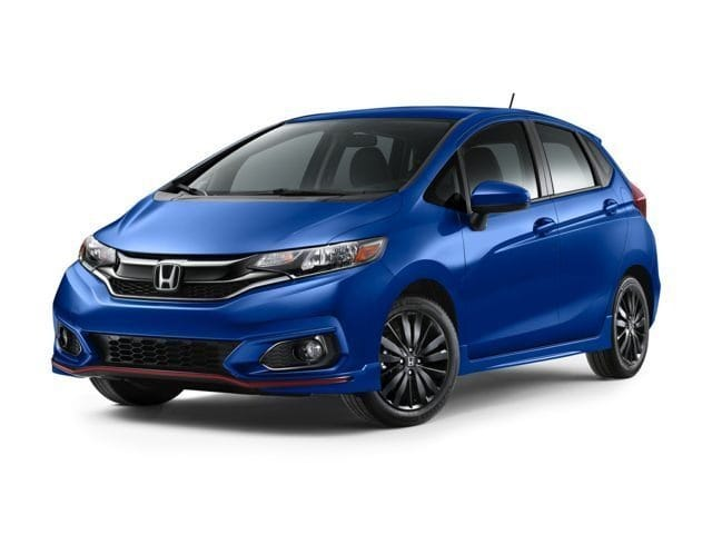 2018 Honda Fit SPORT Hatchback continuously variable automatic