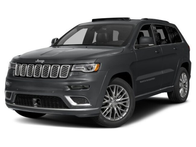 New 2018 Jeep Grand Cherokee Summit 4x4 SUV in Albany, MN
