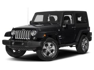 2018 Jeep Wrangler Sahara 4x4 SUV