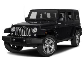New 2018 Jeep Wrangler JK Unlimited Sahara 4x4 SUV in Danvers near Boston, MA