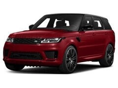 New 2018 Land Rover Range Rover Sport V8 Supercharged SUV in Knoxville, TN