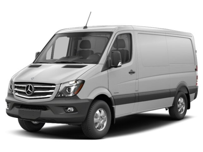 2018 Mercedes-Benz Sprinter High Roof 4x4 Cargo Van