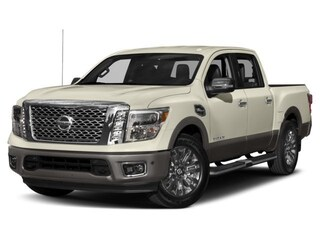 New 2018 Nissan Titan Platinum Reserve Truck Crew Cab N502081 in Conway, AR