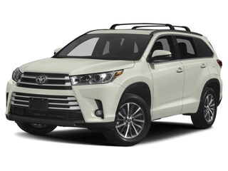 New 2018 Toyota Highlander XLE V6 SUV for sale in Brockton, MA