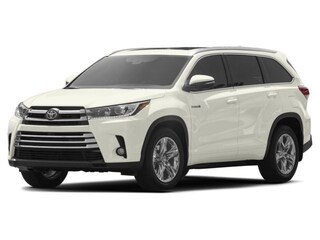 New 2018 Toyota Highlander Hybrid Limited Platinum V6 SUV serving Baltimore