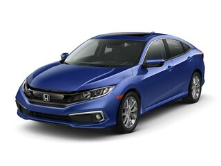 New 2019 Honda Civic EX Sedan 19XFC1F35KE016827 in Port Huron, MI