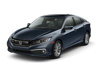 New 2019 Honda Civic EX-L Sedan 19XFC1F76KE006102 for Sale in St. Louis
