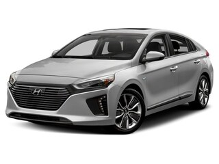 2019 Hyundai Ioniq Hybrid Blue Hatchback Car