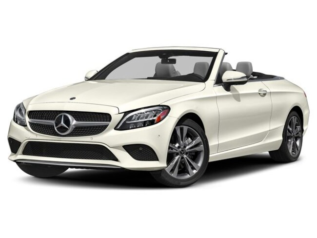 New 2019 Mercedes-Benz C-Class C 300 4MATIC Cabriolet Near Natick