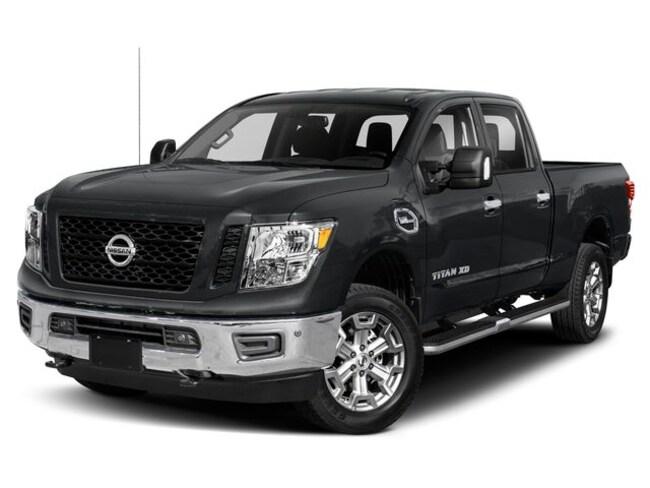 2019 Nissan Titan XD PRO-4X 4WD Diesel Crew Cab