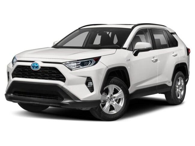 New 2019 Toyota RAV4 Hybrid XLE SUV for sale in Frederick, CO | Serving Boulder & Denver