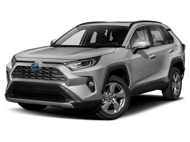 New 2019 Toyota RAV4 Hybrid Limited SUV for sale in Frederick, CO | Serving Boulder & Denver
