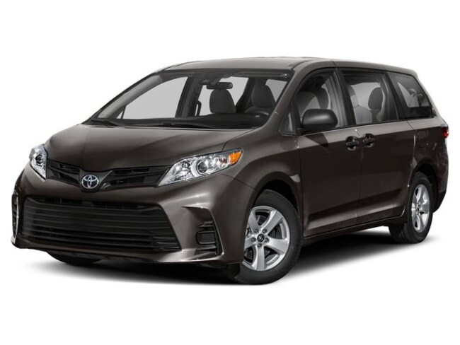 New 2019 Toyota Sienna LE 8 Passenger Van for sale in the Brunswick, OH