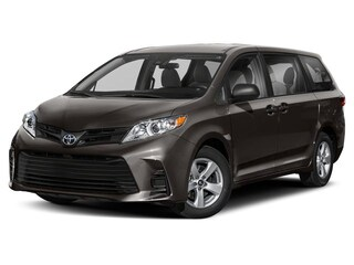 New 2019 Toyota Sienna LE 7 Passenger Van serving Baltimore