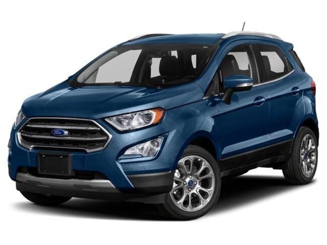 2020 Ford EcoSport Titanium 4WD I4 Engine