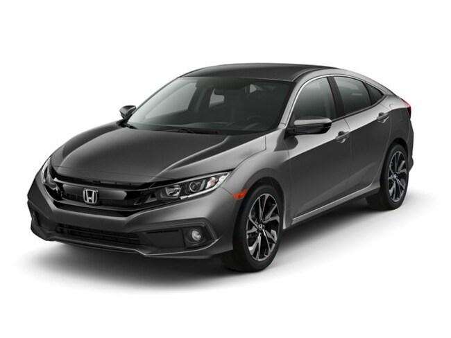 New 2020 Honda Civic Sport Sedan in Bowie, MD