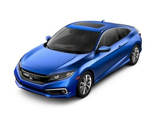 New 2020 Honda Civic EX Coupe LH350655 for sale near Fort Worth TX