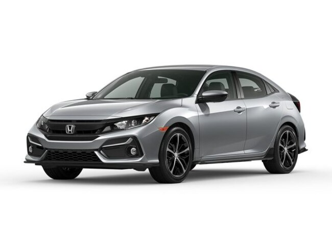 New 2020 Honda Civic Sport Hatchback in Bowie, MD