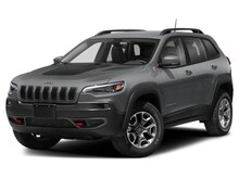 "2020 Jeep Cherokee Trailhawk Elite 4x4 – SafetyTec, Panoramic Sunroof, Uconnect 8.4 w/NAV, Trailer Tow, Alpine Speakers, 17"" Black Wheels"