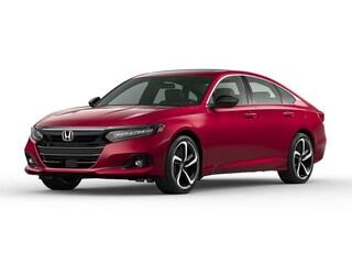 New 2021 Honda Accord Sport 2.0T Sedan 1HGCV2F34MA014481 in Port Huron, MI