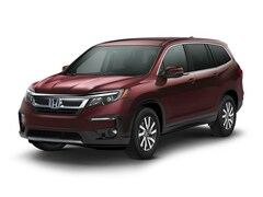 New 2021 Honda Pilot EX FWD SUV 21370 for Sale Decatur, IL, at Honda of Illinois