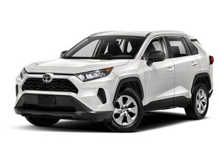 New 2021 Toyota RAV4 LE SUV in Marietta, OH