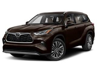 New 2021 Toyota Highlander Platinum SUV in Marietta, OH