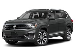 New 2021 Volkswagen Atlas 3.6L V6 SE w/Technology R-Line 4MOTION SUV in Indianapolis
