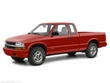 2001 Chevrolet S-10 Extended Cab Pickup