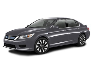 2014 Honda Accord Hybrid Hybrid EX-L Sedan