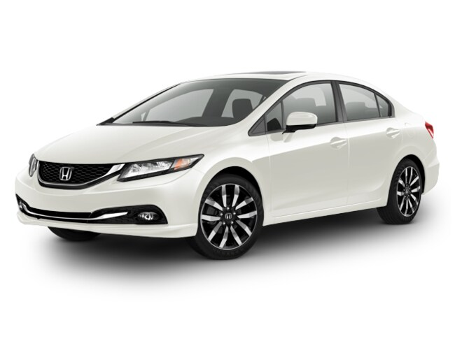 Bargain 2014 Honda Civic EX-L Sedan for sale in Athens, OH