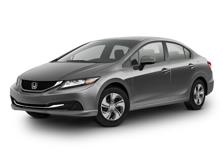 2014 Honda Civic 4dr CVT LX Sedan