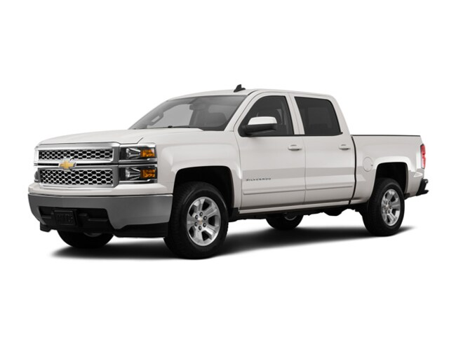 Used 2015 Chevrolet Silverado 1500 Truck Crew Cab Summit White