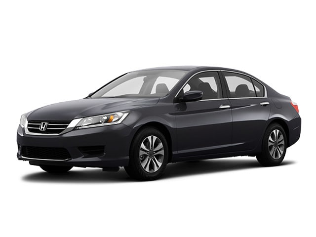 Certified 2015 Honda Accord LX Sedan Near Dallas