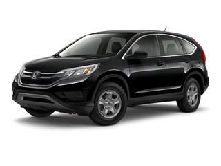 Certified Pre-Owned 2015 Honda CR-V LX SUV for sale near you in Burlington MA