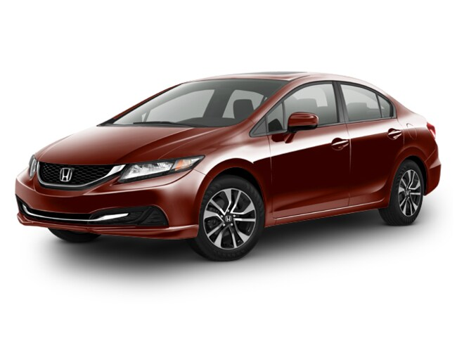 Certified Pre-Owned 2015 Honda Civic EX Sedan Bakersfield