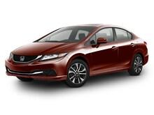 2015 Honda Civic 4dr CVT EX Car