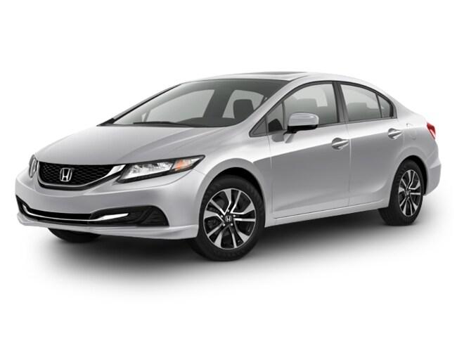 2015 Honda CIV 4D EX