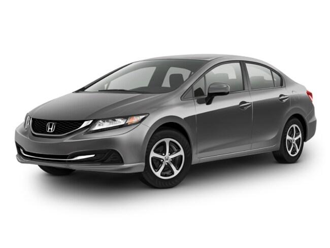 Certified 2015 Honda Civic SE Sedan For Sale in Victorville, CA