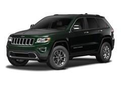 2015 Jeep Grand Cherokee Limited 4WD  Limited [PGZ, DLK, RC3, RA4, 23H, AHN, WRD, DFL, Z6K, ERB, TV9, DLXL] Black Forest Green Pearlcoat