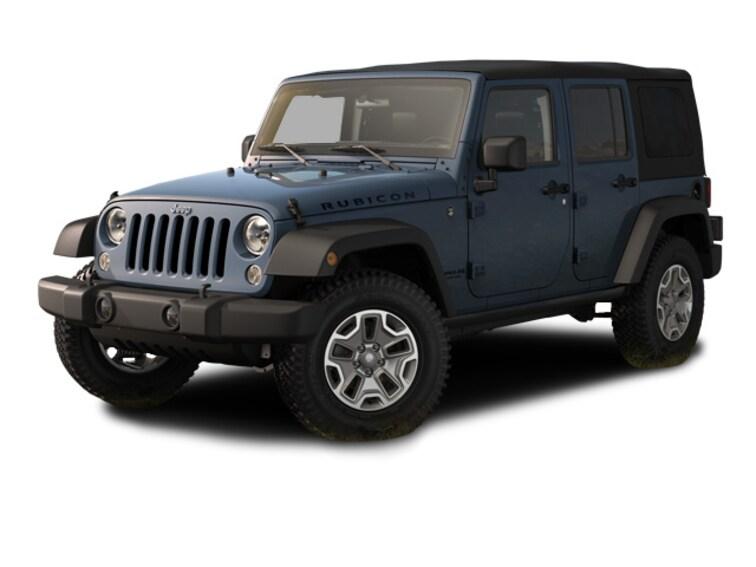 2015 Jeep Wrangler Unlimited Rubicon 4x4 SUV