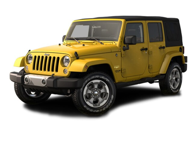 New 2015 Jeep Wrangler Unlimited Sahara 4x4 SUV in PIttsburgh Area