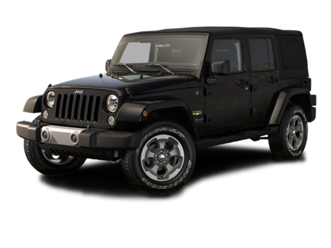 Certified Pre-Owned 2015 Jeep Wrangler Sahara 4x4 SUV For Sale Tamarac, Florida