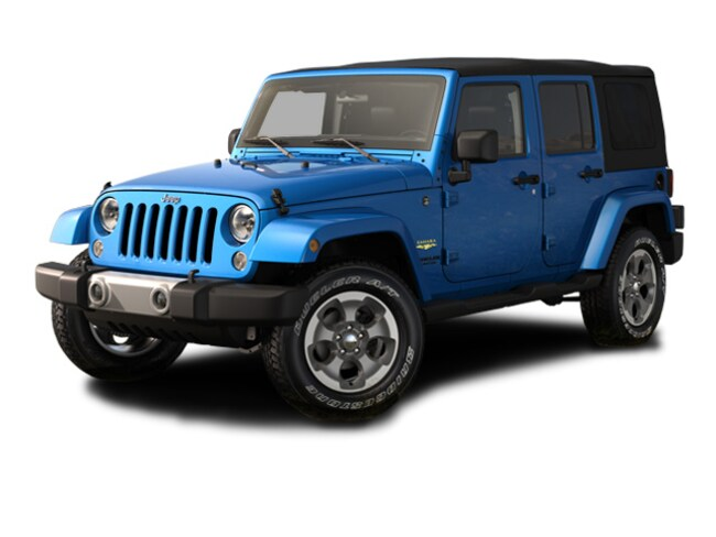 Used 2015 Jeep Wrangler Unlimited Sahara SUV in Simsbury, CT