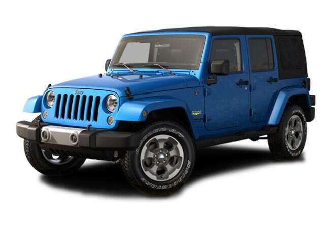 Used 2015 Jeep Wrangler Unlimited Sahara 4x4 SUV Augusta