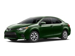 2015 Toyota Corolla LE ECO Sedan