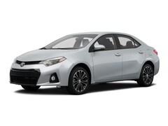 2015 Toyota Corolla CVT S Plus Sedan