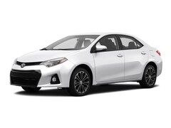 2015 Toyota Corolla S Plus S Plus  Sedan CVT
