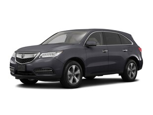 2016 Acura MDX MDX with AcuraWatch Plus SUV