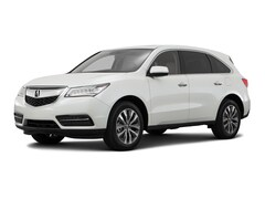 2016 Acura MDX MDX with Technology Package SUV